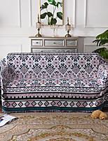 Недорогие -Диван Бросай, Цветочные / ботанический Хлопок / полиэфир Кисточки одеяла