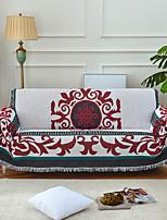 Недорогие -Диван Бросай, Геометрический принт / Цветочные / ботанический Хлопок / полиэфир Кисточки удобный одеяла