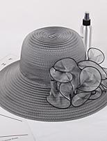 Недорогие -Жен. Классический / Симпатичные Стиль Шляпа от солнца Цветочный принт