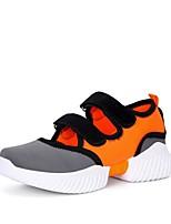 Недорогие -Жен. Обувь для модерна Сетка Кроссовки Толстая каблук Персонализируемая Танцевальная обувь Белый / Оранжевый / Красный