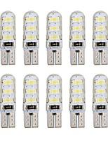 Недорогие -10 шт. T10 Автомобиль Лампы 1 W SMD 5730 60-100 lm 6 Светодиодная лампа Боковые габаритные огни Назначение