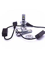 Недорогие -2pcs H7 Автомобиль Лампы 45 W 6000 lm 6 Светодиодная лампа Налобный фонарь Назначение Volkswagen / Toyota / Mercedes-Benz Mazda5 / Mazda3 / Mazda6 Все года