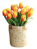 Недорогие -Искусственные Цветы 5 Филиал Классический Традиционный / классический европейский Тюльпаны Вечные цветы Букеты на стол