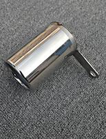 Недорогие -1 шт. 55-60 mm Советы по выхлопной трубе выпрямленный Нержавеющая сталь Глушители выхлопа Назначение BMW A4L / X1 2018 / 2015 / 2016