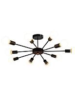 Недорогие -10-Light Спутник Люстры и лампы Рассеянное освещение Окрашенные отделки Металл 110-120Вольт / 220-240Вольт