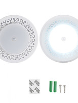 Недорогие -YouOKLight 1шт LED Night Light Белый Аккумуляторы AAA Гардероб 5 V