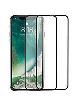 Недорогие -Защитная плёнка для экрана для Apple iPhone XR Закаленное стекло 1 ед. Защитная пленка для экрана HD / Уровень защиты 9H / Ультратонкий