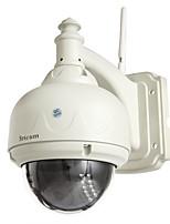 Недорогие -Sricam® 720p ip-камера беспроводная 1,0 мегапиксельная h.264 купольная водонепроницаемая Wi-Fi WLAN с ИК-подсветкой PTZ видеонаблюдения безопасности sp015