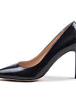 Недорогие -Жен. Искусственная кожа Весна & осень Деловые Обувь на каблуках На шпильке Заостренный носок Черный