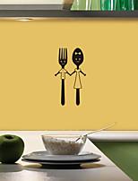 Недорогие -Пейзаж / Геометрия Наклейки Простые наклейки Декоративные наклейки на стены, PVC Украшение дома Наклейка на стену Стена Украшение 1шт