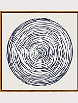 Недорогие -С картинкой Отпечатки на холсте - Модерн Реализм Modern