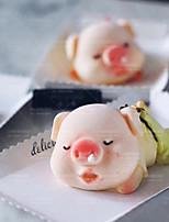 Недорогие -милая слюна свинья силиконовые формы поросенок мусс торт плесень diy эпоксидная форма