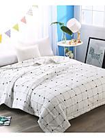 Недорогие -удобный - 1 одеяло Лето Полиэстер Однотонный