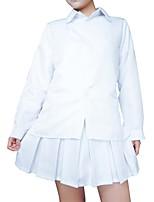 Недорогие -Вдохновлен Косплей Куки-аниме Аниме Косплэй костюмы Косплей вершины / дна Классика Длинный рукав Костюм Назначение Жен.