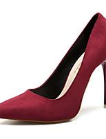 Недорогие -Жен. Искусственная кожа Весна & осень Обувь на каблуках Для прогулок На шпильке Заостренный носок Зеленый / Синий / Винный
