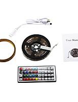 Недорогие -2м Гибкие светодиодные ленты / RGB ленты 60 светодиоды SMD5050 1 пульт дистанционного управления 44Keys RGB / RGB + белый Можно резать / USB / Для вечеринок 5 V 1 комплект