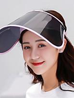 Недорогие -Жен. Симпатичные Стиль Шляпа от солнца Контрастных цветов