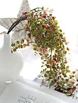 Недорогие -Искусственные Цветы 1 Филиал Классический европейский Простой стиль Pастений Вечные цветы Цветы на стену