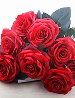 Недорогие -Искусственные Цветы 1 Филиал Классический Традиционный / классический европейский Розы Вечные цветы Букеты на стол
