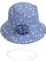 Недорогие -Жен. Симпатичные Стиль Широкополая шляпа / Шляпа от солнца Полоски