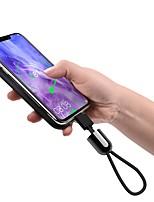 Недорогие -Type-C Адаптер USB-кабеля Плетение Кабель Назначение Samsung / Huawei / Xiaomi 20 cm Назначение Алюминий / TPE