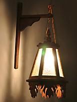 Недорогие -Новый дизайн Современный современный Настенные светильники В помещении Дерево / бамбук настенный светильник 220-240Вольт 5 W