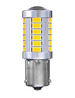 Недорогие -1 шт. BAU15S / 1156 Автомобиль Лампы 21 W SMD 5730 660 lm 33 Светодиодная лампа Лампа поворотного сигнала / Фонари заднего хода (резервные) Назначение Toyota / Mercedes-Benz / Honda Все модели