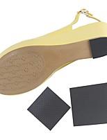 Недорогие -1 пара Пригодно для носки Стельки / вкладыши ПВХ Каблук Весна Универсальные Черный