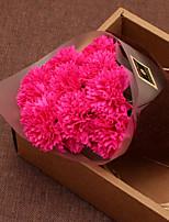 Недорогие -Искусственные Цветы 1 Филиал Классический Modern Пастораль Стиль Гвоздика Букеты на стол