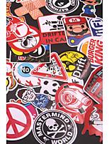 Недорогие -CARPASS Автомобильные наклейки Деловые / Мультяшная тематика / Спорт Дверные наклейки Животное / Мультипликация Стикеры