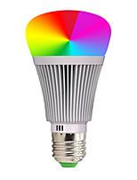 Недорогие -ywxlight®1pc 7 Вт 600-700lm RGB New Milight 7 Вт RGB Wi-Fi светодиодные лампы умные светодиодные лампы приложение телефона Амазонка Алекса голосовое управление переменного тока 85-265 В