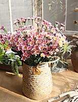Недорогие -Искусственные Цветы 5 Филиал Классический Традиционный / классический европейский Ромашки Вечные цветы Букеты на стол
