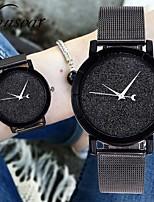 Недорогие -Жен. Нарядные часы Наручные часы Кварцевый Черный Хронометр Повседневные часы Аналоговый На каждый день Мода - Синий Розовый Светло-синий