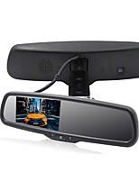 Недорогие -4.3 дюймовый LCD-цифровой экран Проводное Зеркало заднего вида / Автомобильный реверсивный монитор Автоматическое конфигурирование / LCD экран / Регулировка яркости для Автомобиль / Автобус / Грузовик
