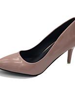 Недорогие -Жен. Лакированная кожа Весна Обувь на каблуках На шпильке Телесный