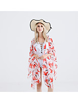 cheap -Sleeveless Polyester Wedding / Party / Evening Women's Wrap With Pattern / Print Shawls