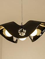 Недорогие -3-Light Оригинальные Подвесные лампы Рассеянное освещение Окрашенные отделки Металл Стекло Новый дизайн 110-120Вольт / 220-240Вольт Теплый белый
