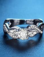 Недорогие -Жен. Мода / Крупногабаритные Кольца Латунь