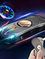 Недорогие -BRELONG® 1 комплект LED Night Light Белый USB Стресс и тревога помощи / Перезаряжаемый / Экстренная ситуация 5 V