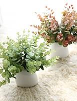 Недорогие -Искусственные Цветы 5 Филиал Классический европейский Простой стиль Pастений Вечные цветы Букеты на стол
