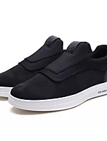 Недорогие -Муж. Комфортная обувь Полиуретан Весна Кеды Черный / Темно-серый / Светло-серый