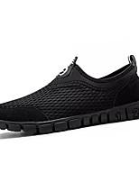 Недорогие -Муж. Комфортная обувь Сетка / Полиуретан Весна На каждый день Мокасины и Свитер Нескользкий Черный / Серый / Военно-зеленный