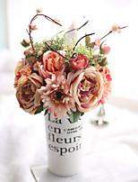 Недорогие -Искусственные Цветы 1 Филиал Классический европейский Свадебные цветы Розы Фрукты Хризантема Букеты на стол