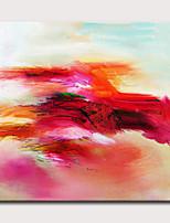 Недорогие -Hang-роспись маслом Ручная роспись - Абстракция Классика Modern Без внутренней части рамки