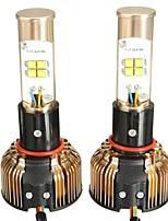 Недорогие -2pcs H4 Автомобиль Лампы 80 W 7680 lm 8 Светодиодная лампа Противотуманные фары / Налобный фонарь Назначение Универсальный / Volkswagen / Toyota Все года