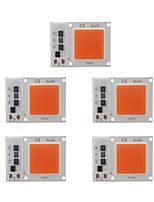 Недорогие -5шт 30w светодиодные растут чип початка лампы для diy завод посевной свет