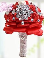 Недорогие -Свадебные цветы Букетик на запястье / Уникальный декор для свадьбы Свадьба / Свадебные прием Гербарий 20-50cm