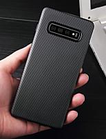 Недорогие -Кейс для Назначение SSamsung Galaxy Galaxy S10 / Galaxy S10 Plus Ультратонкий Чехол Полосы / волосы Мягкий ТПУ для S9 / S9 Plus / S8 Plus