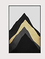 Недорогие -С картинкой Отпечатки на холсте - Модерн Modern
