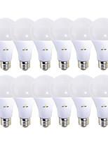 Недорогие -EXUP® 12шт 12 W 1180 lm B22 / E26 / E27 Круглые LED лампы 28 Светодиодные бусины SMD 2835 220-240 V / 110-130 V